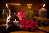 Balinesische spa-einstellung. — Stockfoto