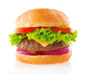 Beef burger — Stock Photo