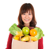 Groceries shopping — Stock Photo