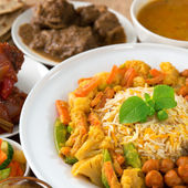 Indian cuisine — Stock Photo