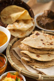 Chapati or Flat bread — Stock Photo