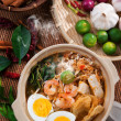 Stock Photo: Prawn noodles, prawn mee.