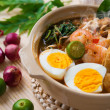 Stock Photo: Prawn mee