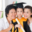 Kindergarten graduate — Stock Photo