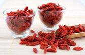 Goji berry, wolfberry or lycium — Stock Photo