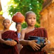 Stock Photo: Buddhist monks Myanmar