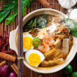 Stock Photo: Malaysian food