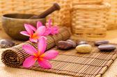 Health spa setting — Stock Photo