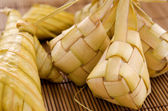 Ketupat Malay food. — Stock Photo