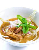 Assam laksa — Stock Photo