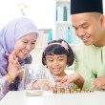 Islamic banking concept. — Stock Photo