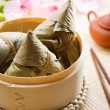 Chinese food rice dumpling — Stock Photo
