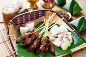 Satay Indonesia food — Stock Photo