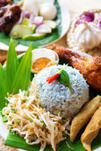 Nasi ulam — Stock Photo