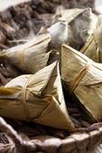 Chinese glutinous rice dumpling — Stock Photo