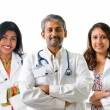 Indian doctors. — Stock Photo