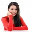 Young Asian woman portrait — Stock Photo