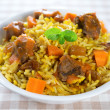 Foto Stock: Arabic mutton rice.