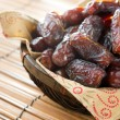 Dried date palm fruits — Foto Stock