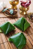 Beliebte malaysia essen nasi lemak — Stockfoto