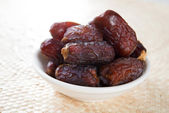 Kurma dates fruit — Stock Photo