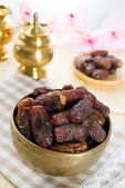 Date palm fruits — Stock Photo