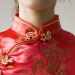 Chinese cheongsam costume — Stock Photo #2762557
