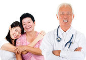 Asian expertise medical doctor — Stock Photo