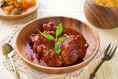 Indisches Chicken Biryani Reis — Stockfoto
