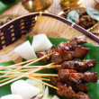 Stock Photo: beef satay
