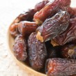 Dried dates fruit. — Stock Photo