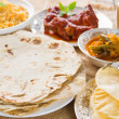 Chapatti roti or Flat bread — Stock Photo