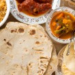 Indian dining — Stock Photo