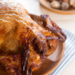 Stock Photo: Roast chicken ready to eat