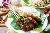 Satay — Stock Photo