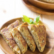 Martabak or murtabak, also mutabbaq — Stock Photo