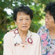 Asian senior women lifestyle — Stock fotografie