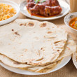 Chapatti roti — Stock Photo