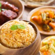 Indian meal biryani rice — Stock Photo #29558565
