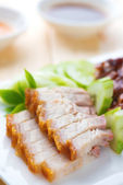 Siu Yuk crispy roasted pork — Stock Photo