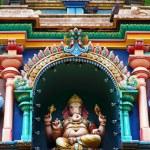 Batu caves Indian Temple — Stock Photo
