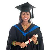Happy Indian university student — Stock Photo