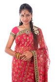 Indian woman portait — Stock Photo