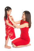 Preparing for Chinese New Year festival — Stock Photo