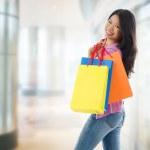 Asian shopping woman — Stock Photo #32632369