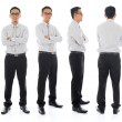 Asian male in different angle — Stock Photo #33697475
