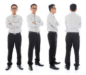 Asian male in different angle — Stock Photo
