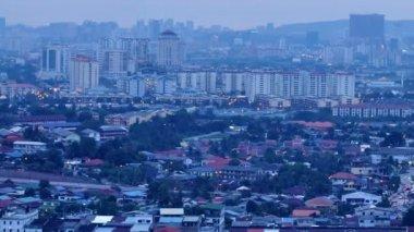 Kuala Lumpur township, Ampang Cheras, Malaysia — Stock Video