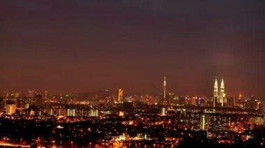 Kuala Lumpur City, Malaysia. — Stock Video