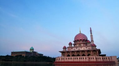 The Putra Mosque — Stock Video